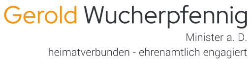 Gerold Wucherpfennig, Minister a. D., heimatverbunden - ehrenamtlich engagiert