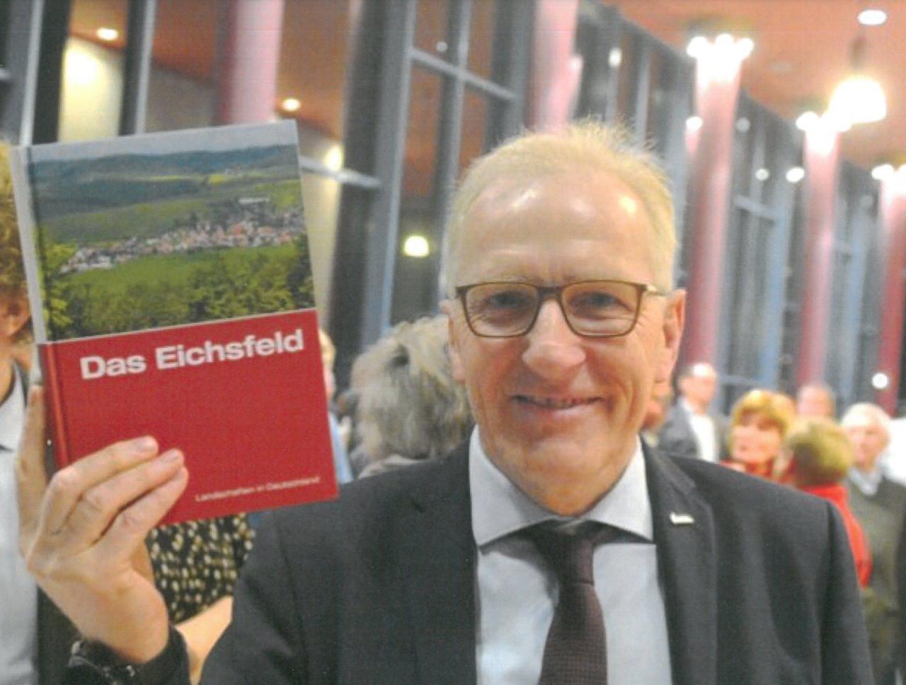 """Buch """"Das Eichsfeld"""" mit Gerold Wucherpfennig"""